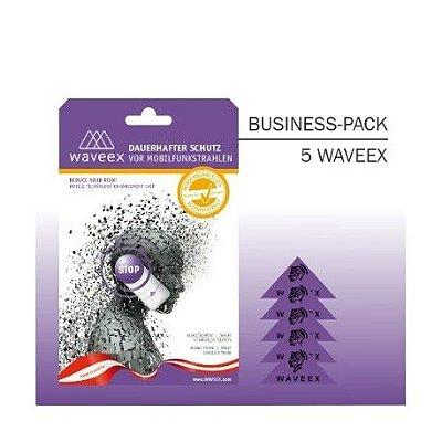 WAVEEX - ( 5 Unidades ) Chip Anti-radiação para Celulares, Tablets, conexão Wi-Fi, Bluetooth e etc.