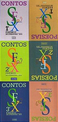 Prêmio SFX de Literatura - 3 volumes (1.º, 2.º e 3.º Prêmio SFX de Literatura)