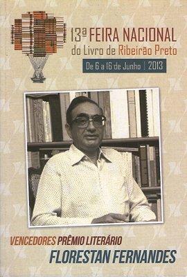 Prêmio Florestan Fernandes - 13ª Feira Nacional do Livro de Ribeirão Preto