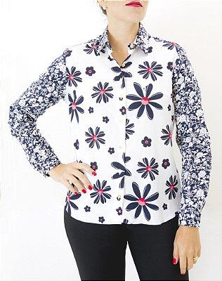 camisa feminina Dudalina coleção Floripa