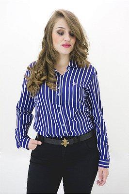 Camisa seda Dudalina coleção Trancoso