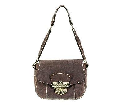 Bolsa Mini Bag Valentine Marrom