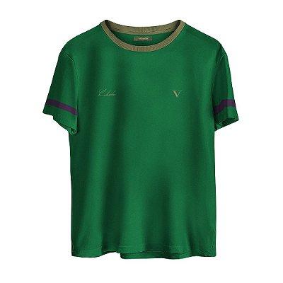 Camiseta Masculina Valparroci 'Celeste 17' Verde