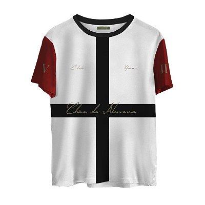 Camiseta Masculina Valparroci Chão de Nuvens 'Celeste 17' Branca