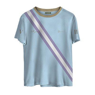 Camiseta Masculina Valparroci 'Majestade 17' Azul