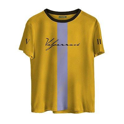 Camiseta Valparroci Faixa Imperial 'Majestade 17' Amarela