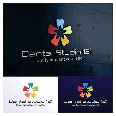 Criação de logomarca consultorio odontologico