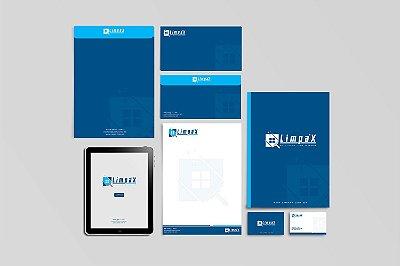 Adaptação de Logotipo, Design do Cartão de Visita, Pasta, Papel Timbrado, Site Corporativo e Capa do FaceBook, Posts Instagram, FaceBook e WhatsApp