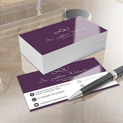 Criação Logotipo e Design de Cartão de Visitas