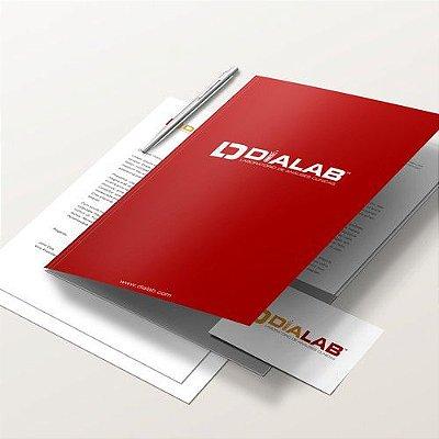 Design de Logotipo, Cartão de Visita e Papel Timbrado