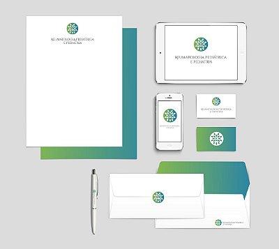 Criação de Logotipo, design de cartão de visitas e Papel Timbrado