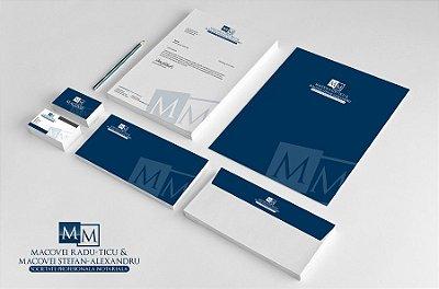 Design de Logotipo, Cartão de Visitas e Papel Timbrado