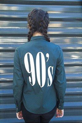 Camisa Grunge 90's Verde