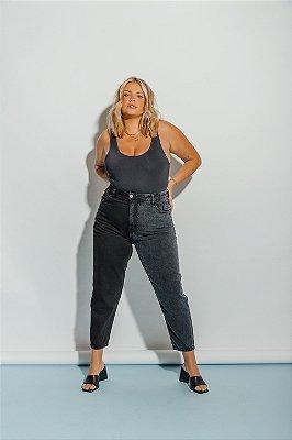 Mom Jeans Dual Black Maria