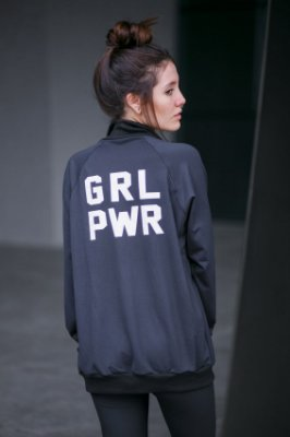 Jaqueta Bomber Girl Power