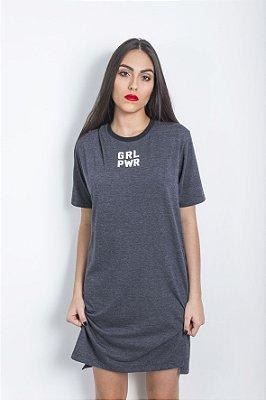 Long Tshirt Mescla GRL PWR