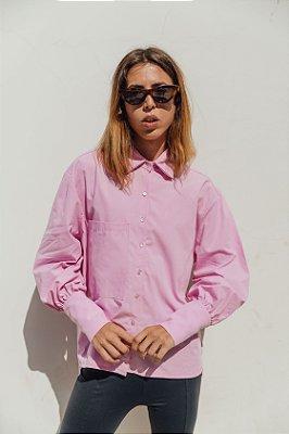 Camisa Oversized Rosa