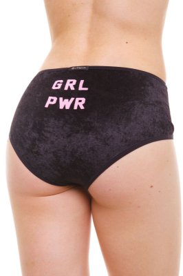 Calcinha Alta / Hot Pants Girl Power