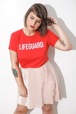 Camiseta Feminina Lifeguard