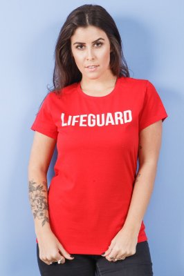 Camiseta Feminina Lifeguard