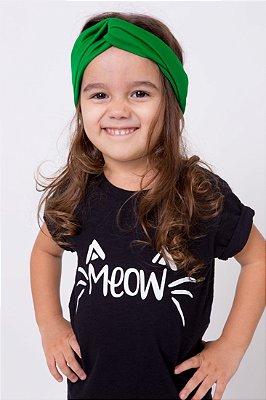 Camiseta Infantil Meow
