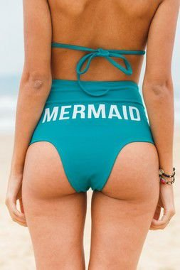 Calcinha Biquini Hot Pants Mermaid