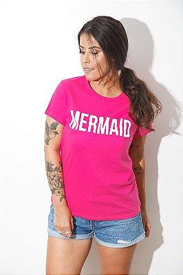Camiseta Feminina SEREIA Rosa