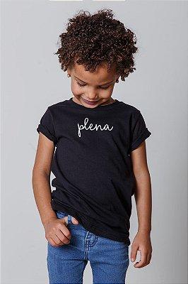 Camiseta Infantil Plena