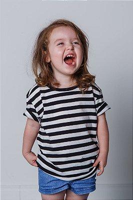Camiseta Infantil Listrada