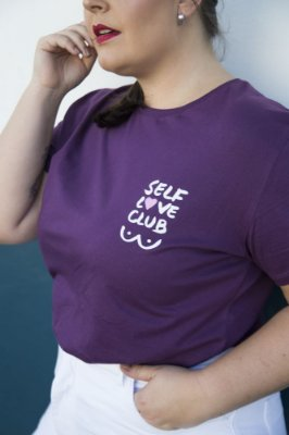 Camiseta Feminina Self Love Ultra Violet