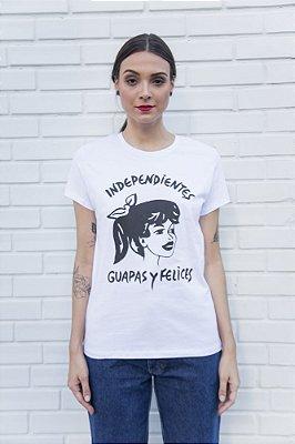 Camiseta Feminina Guapas Branca