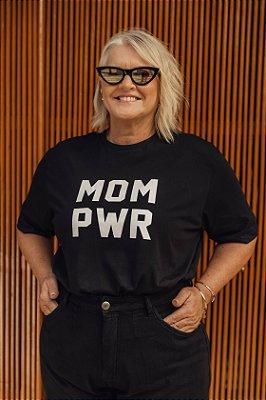 Camiseta MOM PWR Preta