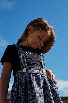 Salopete Infantil Xadrez