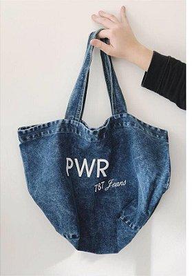 Bolsa Power Jeans Escuro