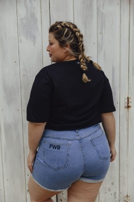 SHORTS MOM Jeans Vintage Gabriela