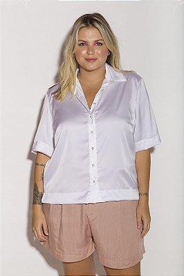 Camisa Seda Gloss Off