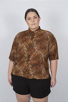 Camisa Viscose Onça