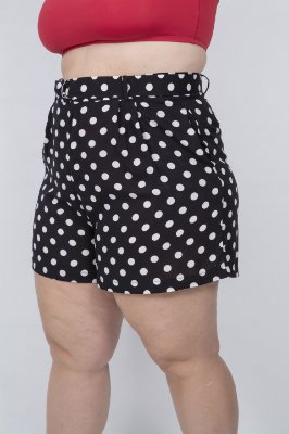 Shorts Alfaiataria Poá