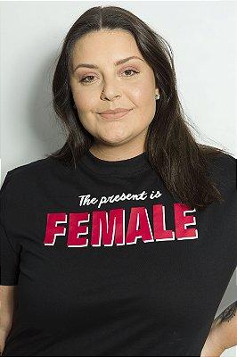 Camiseta Feminina Female Preta