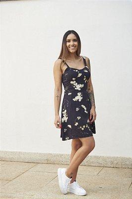Vestido Tiane Floral Dark
