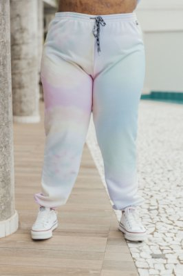 Calça Jogger Tie Dye Candy Colors