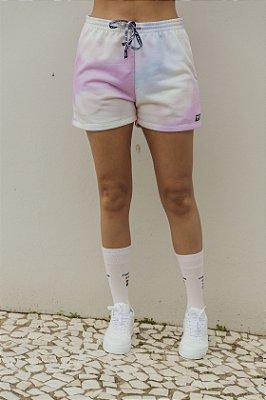 Shorts Tie Dye Moletom Candy Colors