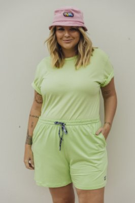 Camiseta Feminina Básica Verde