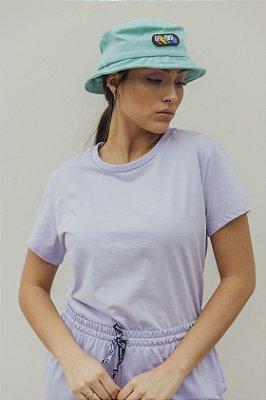 Camiseta Feminina Básica Lilás