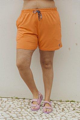 Shorts Básico Laranja