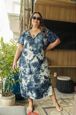 Vestido Cotton Oceano Pacífico