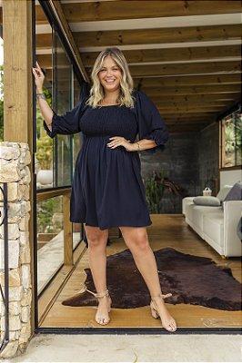 Vestido Jess CURTO Básico Preto