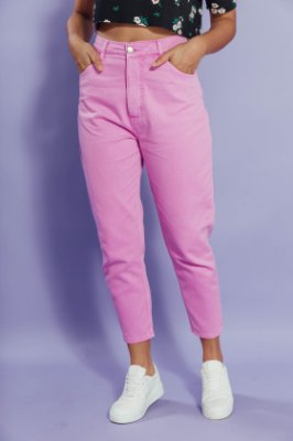 Mom Jeans CANDY PINK