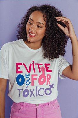 Camiseta Evite o Tóxico Colors