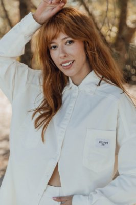 Camisa Jeans OFF WHITE